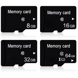 Image 1 - עבור מיקרו SD 64 GB 32 GB 16 GB 8 GB זיכרון פלאש כרטיס Class 10 TF כרטיס MicroSD כרטיסים עבור Tablet טלפון מצלמה Dropshipping