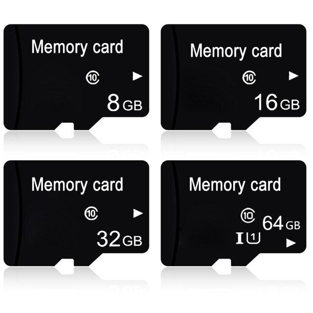 עבור מיקרו SD 64 GB 32 GB 16 GB 8 GB זיכרון פלאש כרטיס Class 10 TF כרטיס MicroSD כרטיסים עבור Tablet טלפון מצלמה Dropshipping