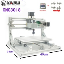 CNC 3018 ER GRBL control Diy CNC machine 3 Axis pcb Milling machine Wood Router laser