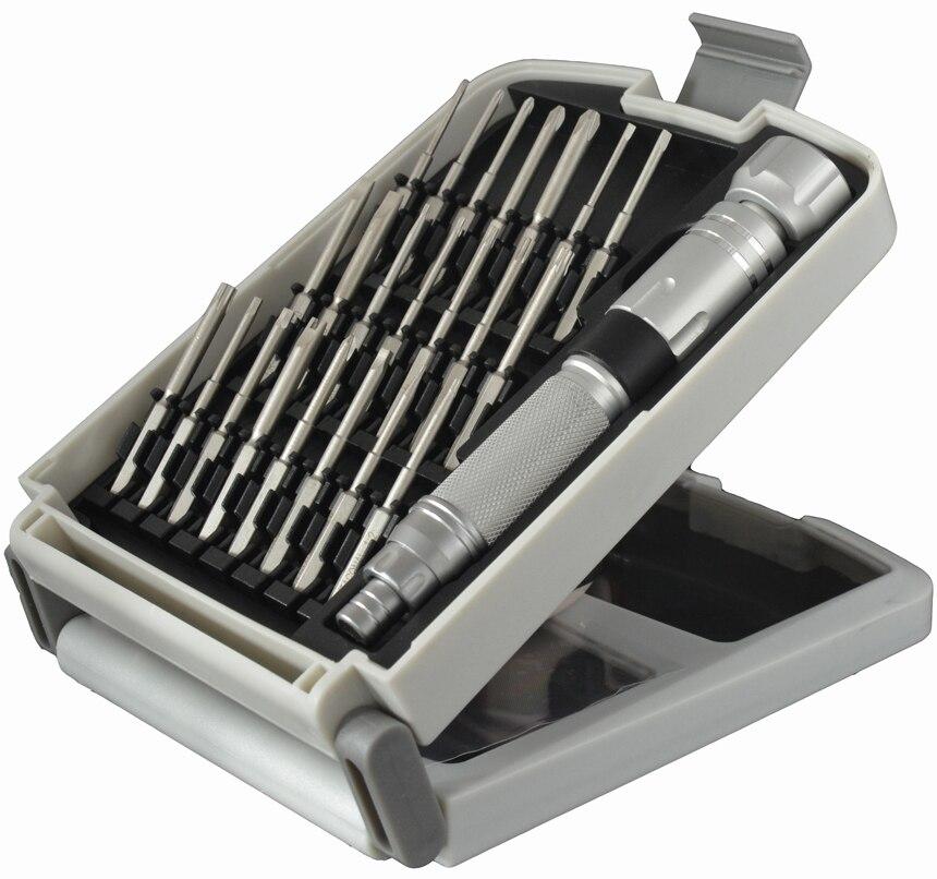 NANCH 22 en 1 Kit de Destornilladores Herramienta de Reparación para PC Portátil Teléfono Inteligente Electrónica y Dispositivos de Precisión