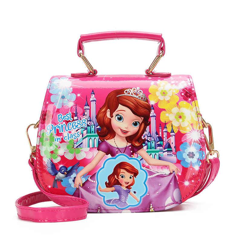 Новинка Милая мини сумка детская сумочка София для девочек Водонепроницаемая из