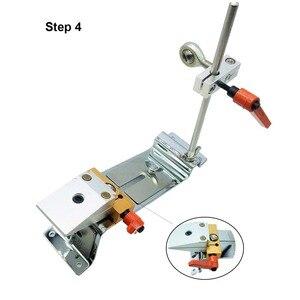 Image 2 - Rand Messer spitzer system umkehr clip Kreuz slider zweireihig clip Erweiterte version