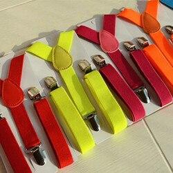 Bretelles élastiques pour enfants | Lot de 2.5x65Cm, accessoires de mode pour enfants, bretelles élastiques pour bébés, Lot de
