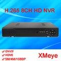 Sensor de Hisiclion Xmeye 4*5 M/8*4 M/8*3 M/16*960 P 8CH ONvif HD Digital/Câmera IP de Vigilância NVR 4CH H.265 Frete Grátis