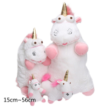 40cm 56cm Cute Licorne Plush Toy Soft Stuffed Animal Toys Dolls Large Size Kids Baby Birthday Gift