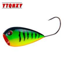 YTQHXY 1Pcs Fishing Lure 80mm 13g Floating CrankBait Swim Onerous Bait Wobblers Fishing Popper Bait Single Hook For Fishing WQ160