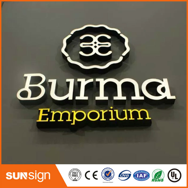 Wholesale Outdoor Sign Letters Type LED Illuminated Sign Letters