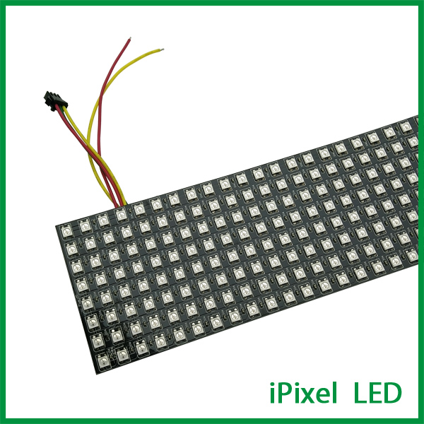 8 32 Pixel Rgb Ws2812b Small Flexible Led Panel Screen