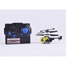 Mini RC Hélicoptère 2CH Avec Gyro Radio Mini Drones Construit en Gyroscope Télécommande Toys drone hélicoptère