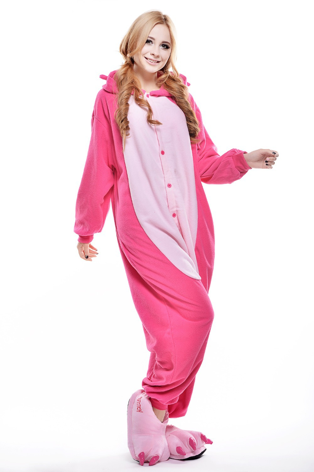 Adult footed pajamas size