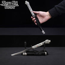Home Decoration Short Katana Stainless steel blade Exquisite alloy fittings Dragon handle espada gifts Sword The New(China)