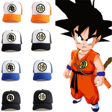 High Quality Dragon ball Z Goku baseball Hat Snapback Flat Hip Hop Caps Casual Baseball Anime Cosplay Cap Kids Adult Gift Hats стоимость