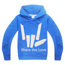 2019 Youth Share The Love Hoodies Long Sleeve T-shirt Different Colors Graphic Share The Love tshirt kids Youth shirt Tops Tees jill monroe share the darkness