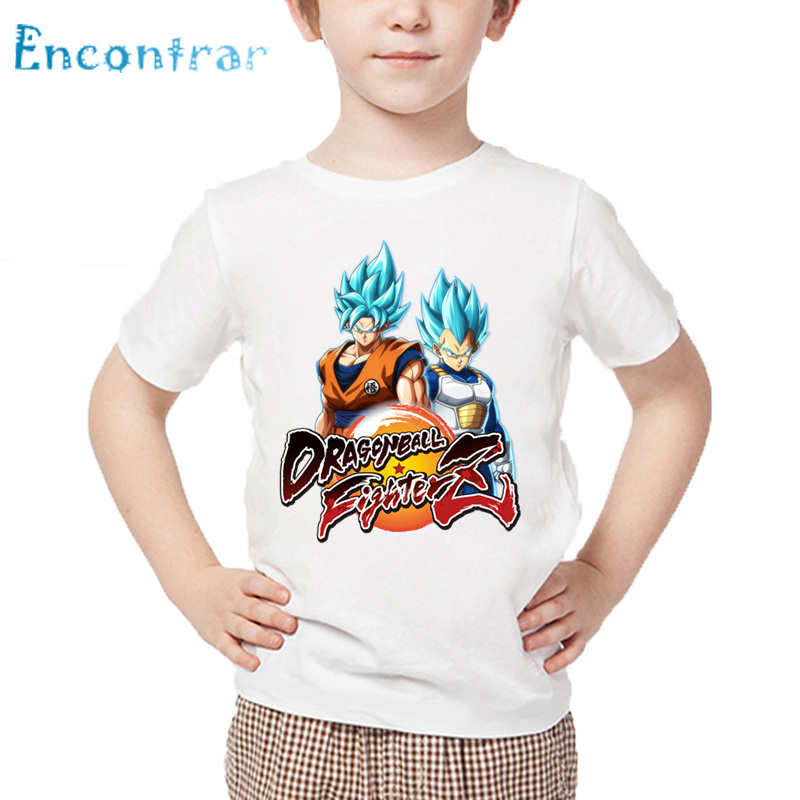 Fire Dragon Novelty Cotton T Shirt Personality White Tee for Toddler Kids Boys Girls