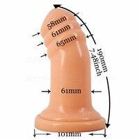 Новые гигантские анальный плагин фаллоимитатор нить анального секса игрушки для женщин As массаж влагалища мастурбация Анальная пробка для...