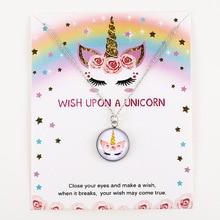 Unicorn Horse Pendants Necklace