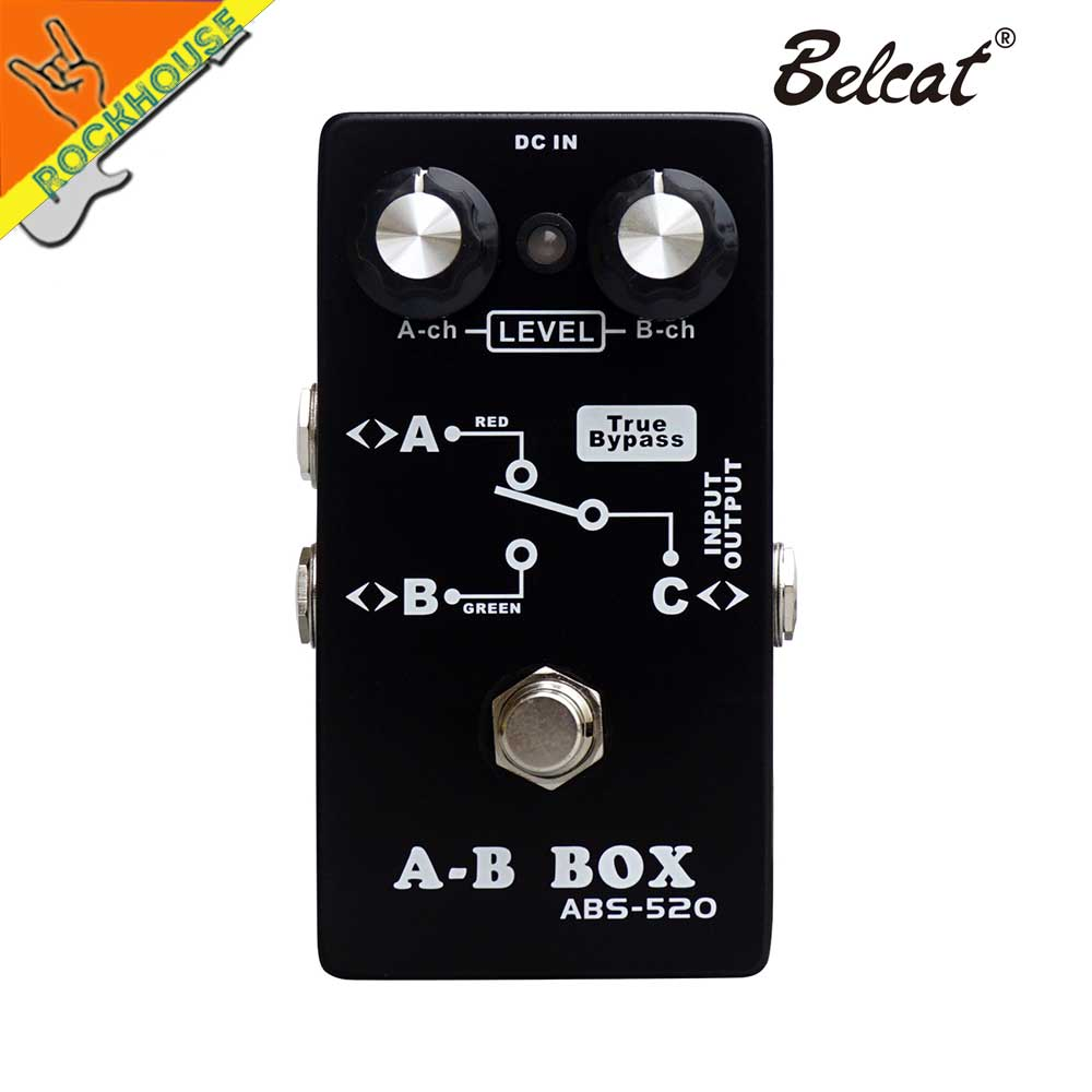 Guitar Channer Switch Signal Line Selector Guitar Effects Pedal 3 Models avaliable True Bypass Free Shipping