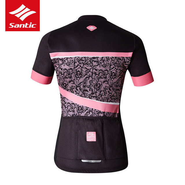 60053c4fa placeholder Santic Cycling Jersey Set 2018 Women Summer Breathable Road Bike  Jersey Quick Dry Bicycle Clothes Suit