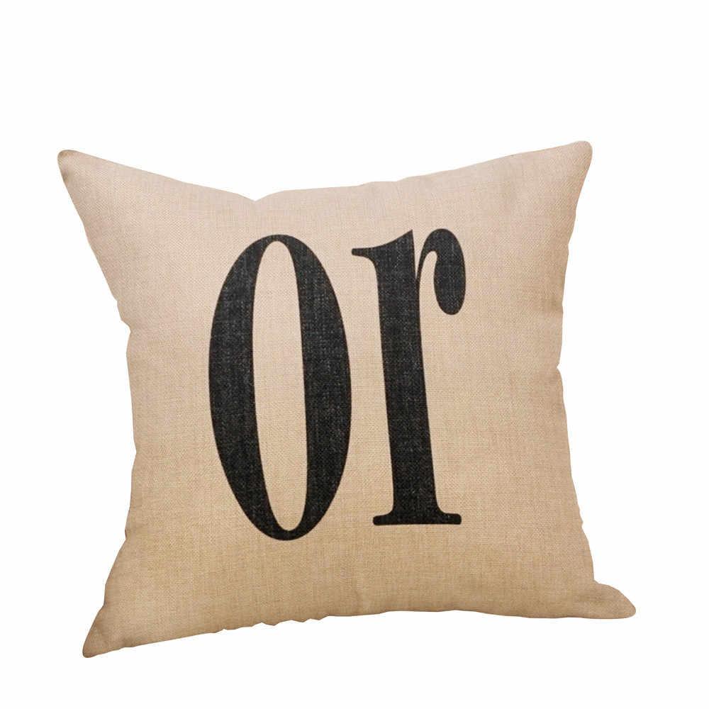 Чехол для подушки с принтом «трюк» или «лакомство»/«Тыква», «Счастливый Хэллоуин», наволочка для подушки, чехол для подушки с буквенным принтом 2018
