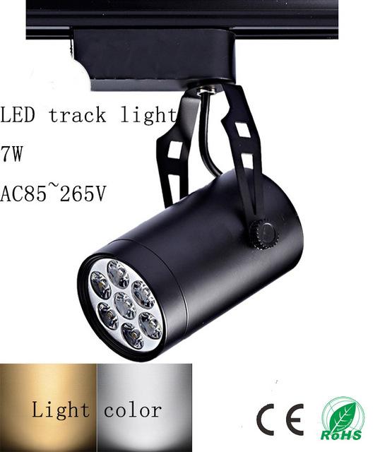 7 W LED faixa de luz com sucção um top salão de loja de roupas definir lâmpada de parede sala de estar