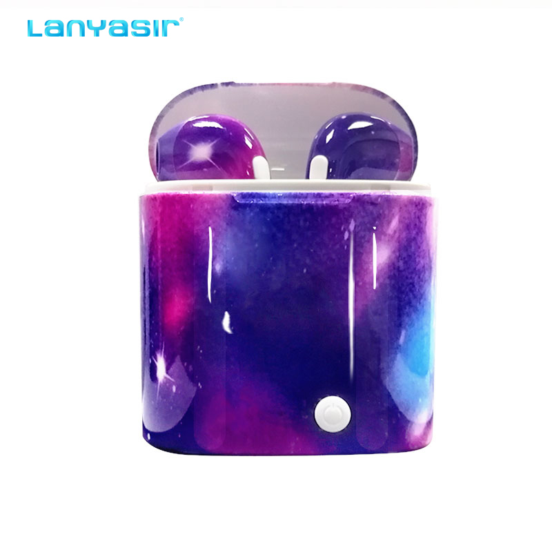 Lanyasir i7s tws Sem Fio fones de ouvido bluetooth Sem Fio do fone de ouvido fones de ouvido Fones de Ouvido Bluetooth 5.0 para xiaomi iPhone i7s tws 2019