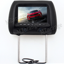 Universal 7 inch TFT LED screen Car MP5 player Headrest monitor Support AV/FM/Speaker/Car camera No USB NO SD card DVD