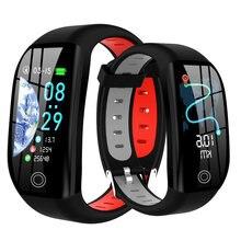 F21 pulseira inteligente gps distância rastreador atividade de fitness ip68 à prova dip68 água banda pressão arterial monitor sono relógio inteligente