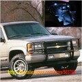 Free Shipping 15pcs/lot White Interior LED Lights For Chevrolet Tahoe 1992-1999