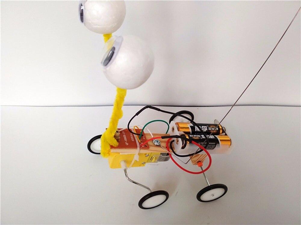 2019 Spielzeug Diy Kinder Wissenschaft Experiment Spielzeug Fernbedienung Roboter Reptil Modell Kit Elektrische Erfindung Kid Kreative Pädagogisches Wir Nehmen Kunden Als Unsere GöTter