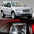 Acessórios do carro 10 pcs Lâmpada LED Luzes Interiores Kit Pacote 12 V Luzes de Mapa Para land rover Freelander2 2010-2014 Stying carro