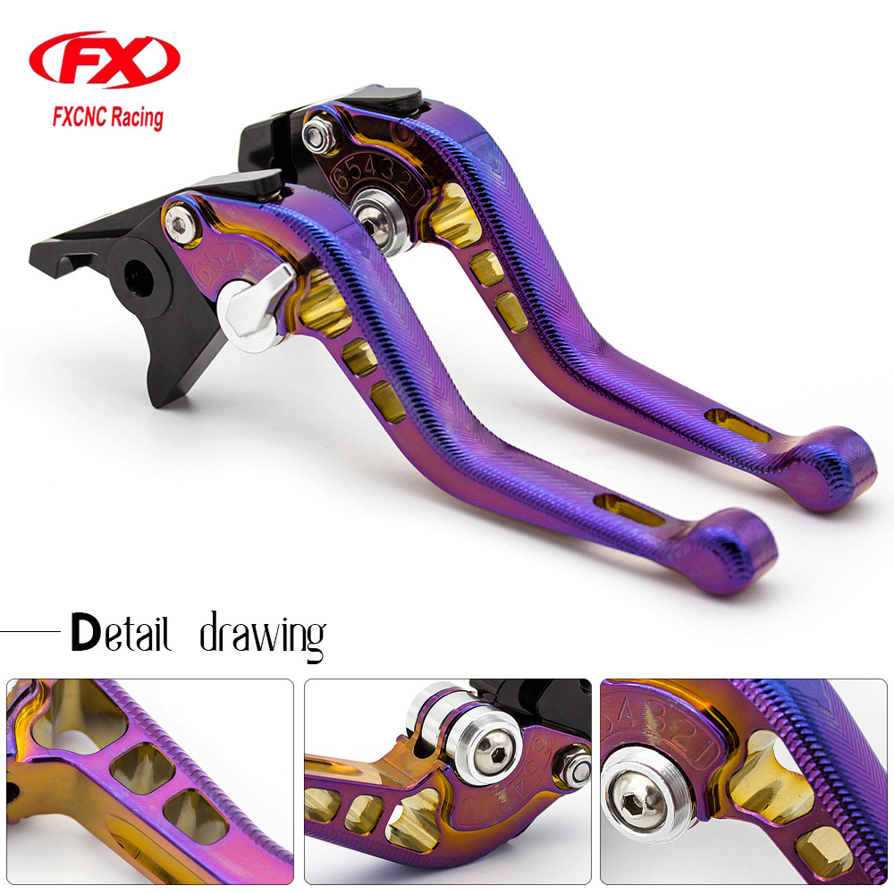 For KYMCO DOWNTOWN 125 200 300 350 CNC 3D Adjust Motorcycle Brake Clutch Levers Handle For XCITING 250 300 500 400 xciting 400 for gilera piaggio x evo 400 x8 x9 125 200 250 500 silver motorcycle aluminum adjustable short left right brake levers