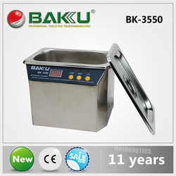Limpiador ultrasónico de acero inoxidable de BAKU, alta calidad y el mejor precio. uso para PCB/placa de circuito electrónica de consumo, fruta, DVR.