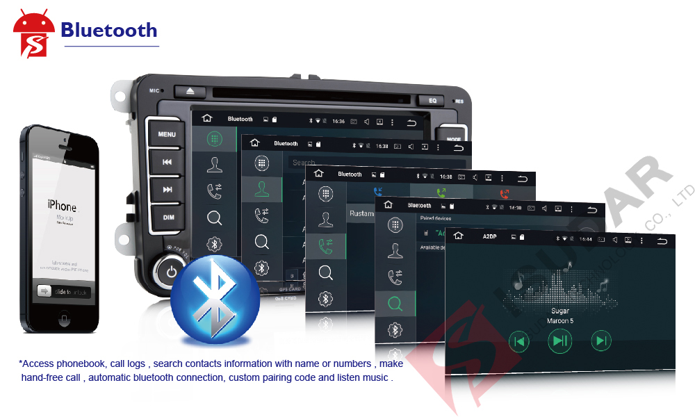 Car Multimedia Player, Car Radio GPS