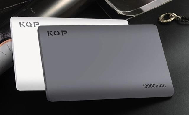 Mobile Powerbank 10000mah Ultra Thin External Battery Power Bank Portable Charger Polymer 10000 mah for iPhone Samsumg LG HTC