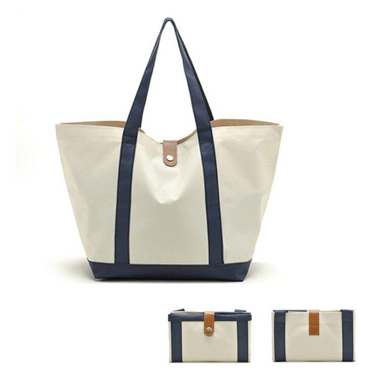 Nouveaux sacs d'épicerie promotionnels de totes d'achats de Polyester d'oxford de preuve de l'eau de conception avec disponible pour la coutume
