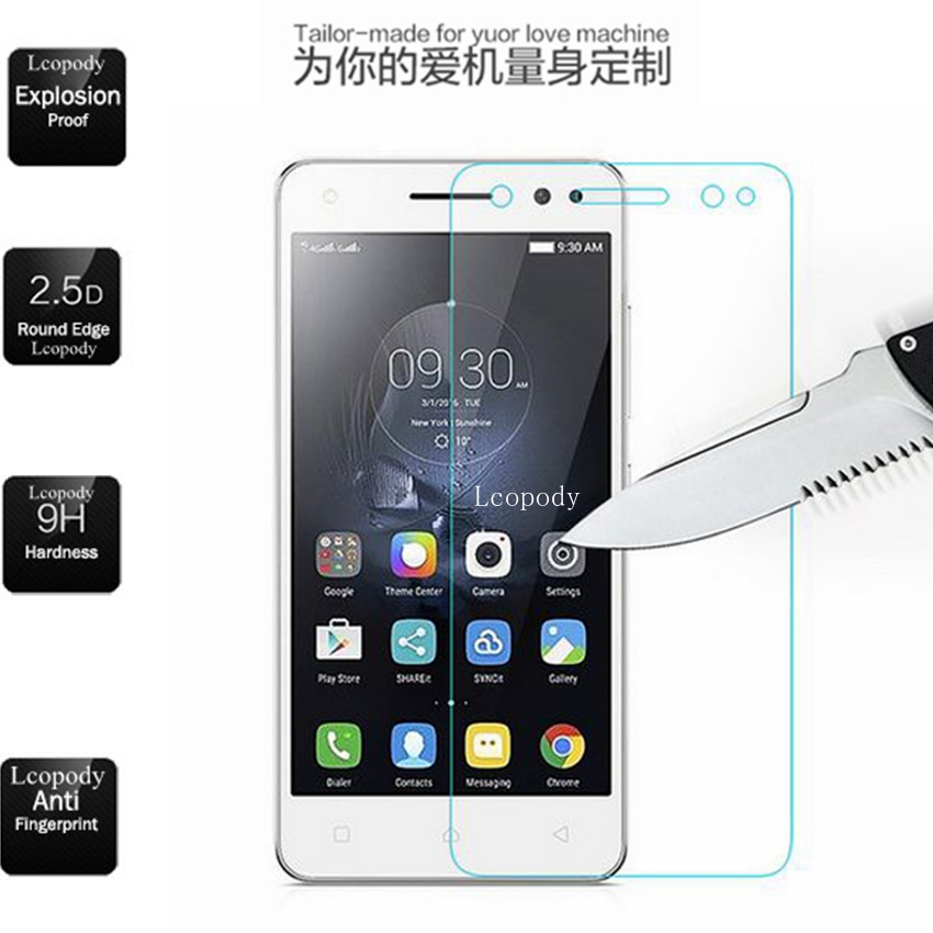 Tempered Glass FOR Lenovo Vibe S1 Lite S1La40 LITE Screen Protector SKLO GLAS Film En Verre FOR Lenovo S1lite S1a40 S1c50 CASE