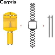 Best цена! Роскошные Нержавеющая сталь Браслет Смарт часы ремешок + чехол для fitbit Blaze доставка jul28