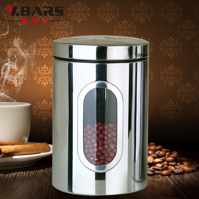 Bai Wei Shi Stainless Steel Canister Dried Tea Zero Food Storage