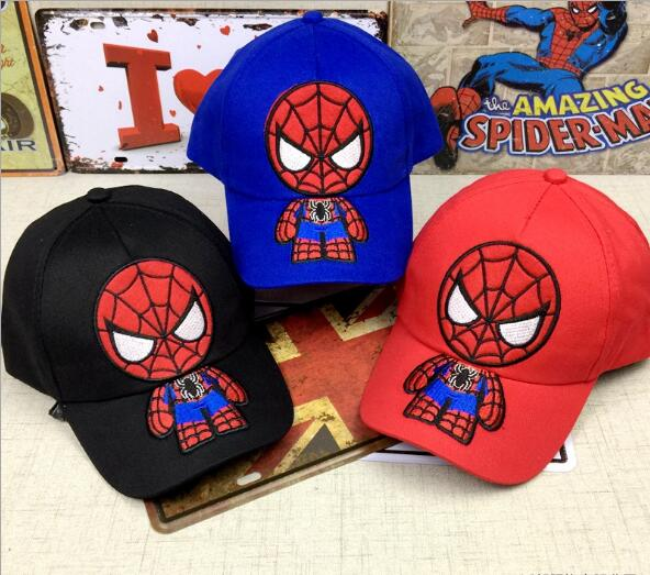 Boys' Clothing Mother & Kids Trustful 3pcs Cartoon Spider-man Child Baseball Caps Outdoor Girls Sun Visor Hat Caps Party Gifts Sm828 Clear-Cut Texture