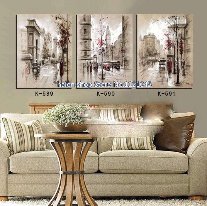 3D New DIY Diamond Painting Sets For city streets triptych Embroidery Stitch Crafts Home Decoration Diamond Embroidery NW4833D New DIY Diamond Painting Sets For city streets triptych Embroidery Stitch Crafts Home Decoration Diamond Embroidery NW483