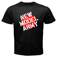 New NEW MODEL ARMY Rock Band Men S Black T Shirt Size S M L XL