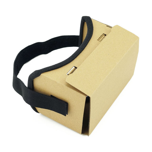 DIY Ultra Clear Google Cardboard VR BOX 2.0 Virtual Reality 3D Glasses for iPhone SmartPhone computer gafas xiaomi mi vr headset 3