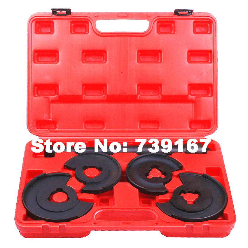 Car Telescopic Coil Spring Compressor Remover Auto Repair Garage Tools For Volkswagen <font><b>Mercedes</b></font> W123/<font><b>124</b></font>/126/129/202/210 ST0011 image