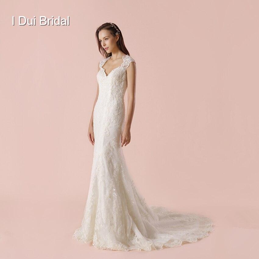 Elegant Two Pieces Lace Arab Wedding Dress Sheath 2017: Aliexpress.com : Buy 2018 New Sheath Wedding Dress Lace