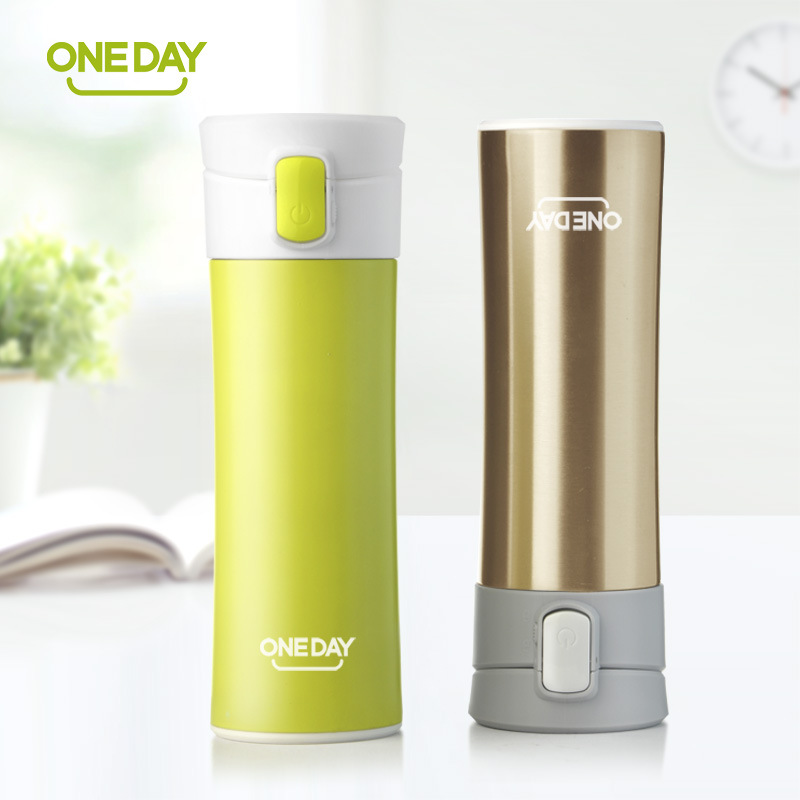 2017 New fashion Brand ONEDAY creative design thermal mug heat water cup themos super insulated vacuum