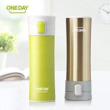 2017 neue modemarke oneday kreative design thermische mug wärme wasser tasse themos super isolierte isolierflaschen anzug für tee milch
