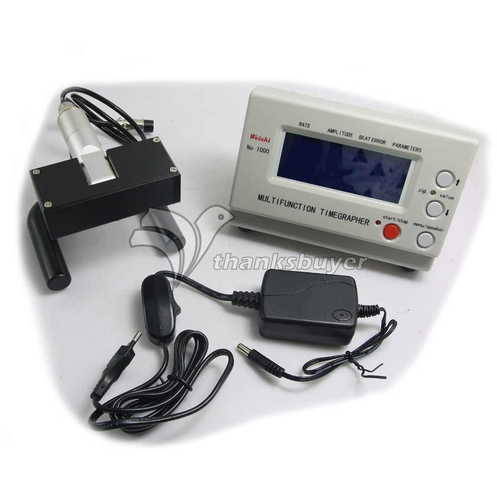 Multifunction Timegrapher NO 1000 Watch Timing Machine Calibration Tools