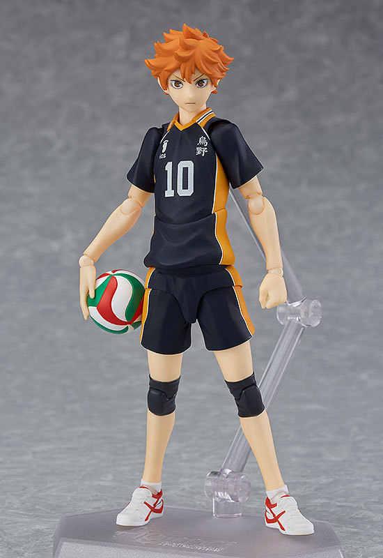 13 cm 2019 Japonês Dos Desenhos Animados Anime Haikyuu!! Voleibol Atleta Shoyo Hinata Syouyou Figma 358 Figura Coleção Ação PVC