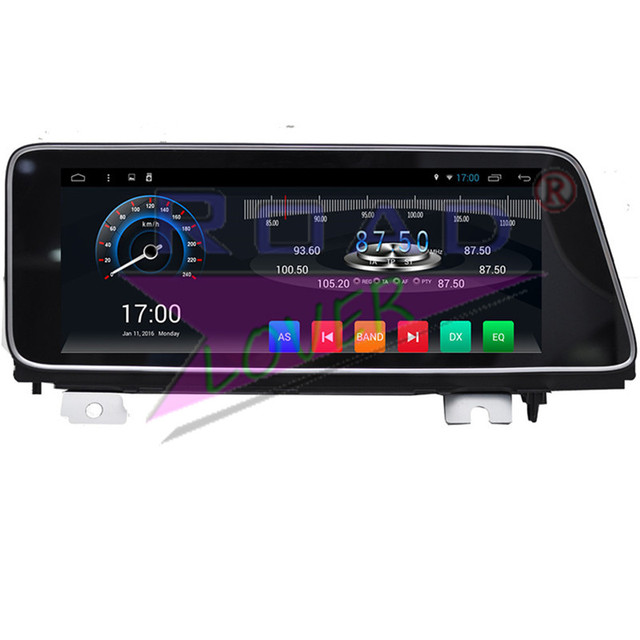 Roadlover Android 7.1 Car GPS Navigation Player For Lexus RX200 RX350 RX450 2016- Stereo Automagnitol Radio 2 Din 12.3in NO DVD 1