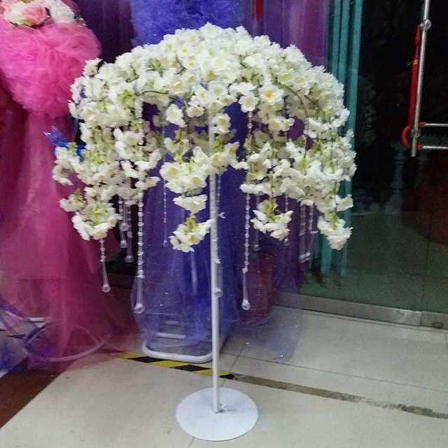 12 Pcs 80 Cm 90 100 110 Cm Tall Wedding Centerpieces Vase Stands Frame Wedding Decorations